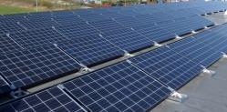40 kWp Flachdachanlage auf Autohaus in Horgau,